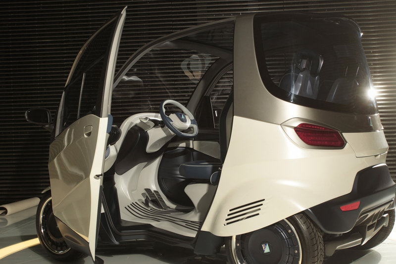 An All Electric Car Is Designed To Run