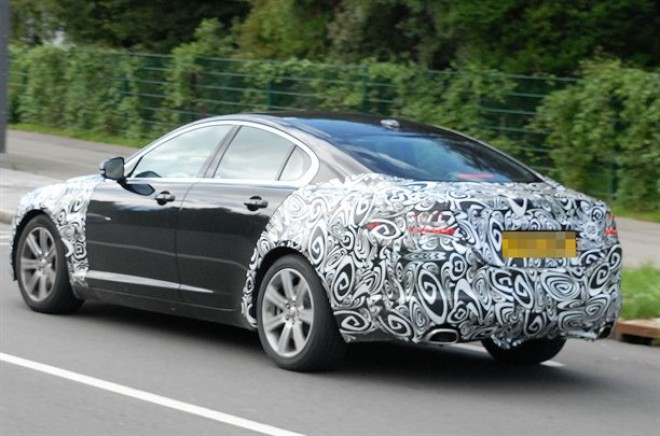 New Jaguar Xf 2011. Spied – New Jaguar XF facelift