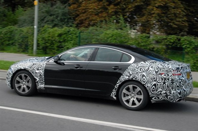 Spied New Jaguar Xf Facelift