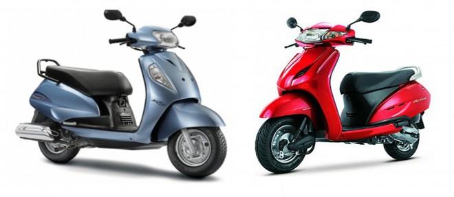 Compao - Honda Activa Vs Suzuki Access