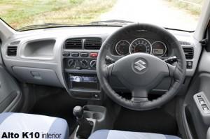 alto k10 interior