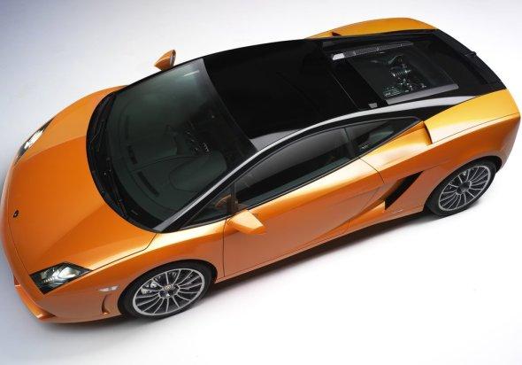 Lamborghini Gallardo LP560-4 Bicolore Top view