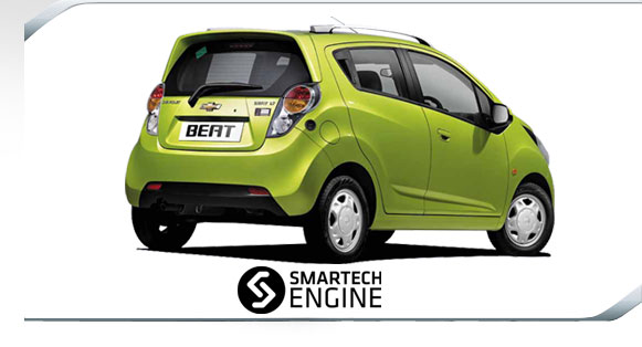 Modified Chevrolet Beat Car. the Chevrolet Beat LPG,