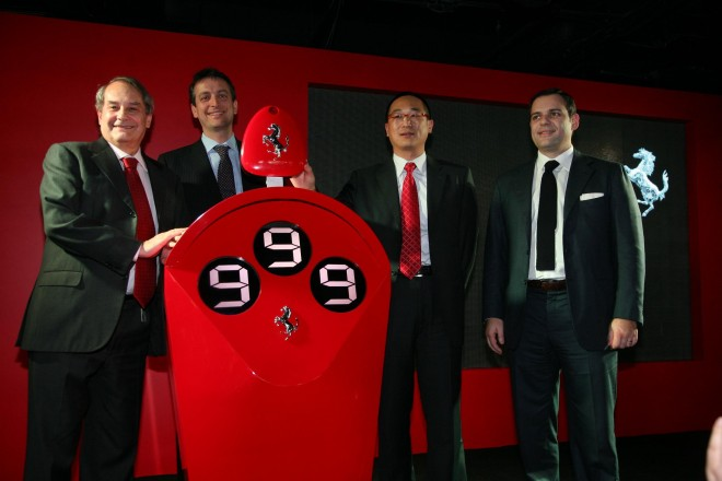 Ferrari celebrating 999th customer in China