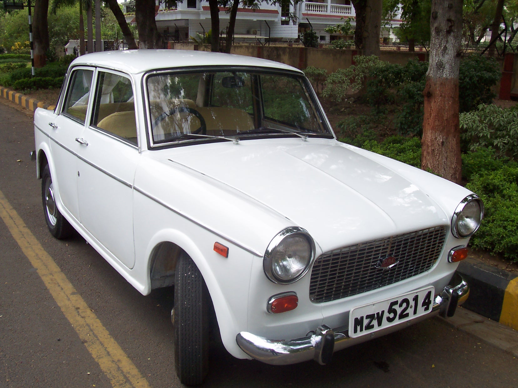 The Fiat 1100D based on the