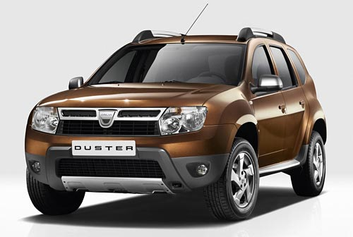2011 Renault Dacia Duster Front