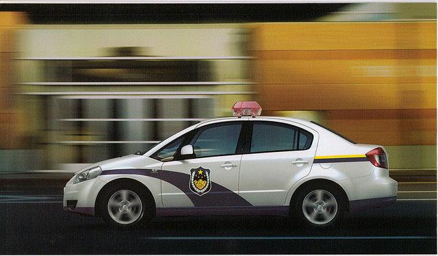 Delhi Police SX4