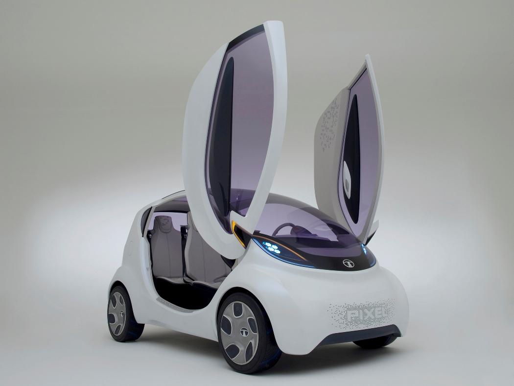 2011 Geneva Tata Pixel Concept Unwrapped