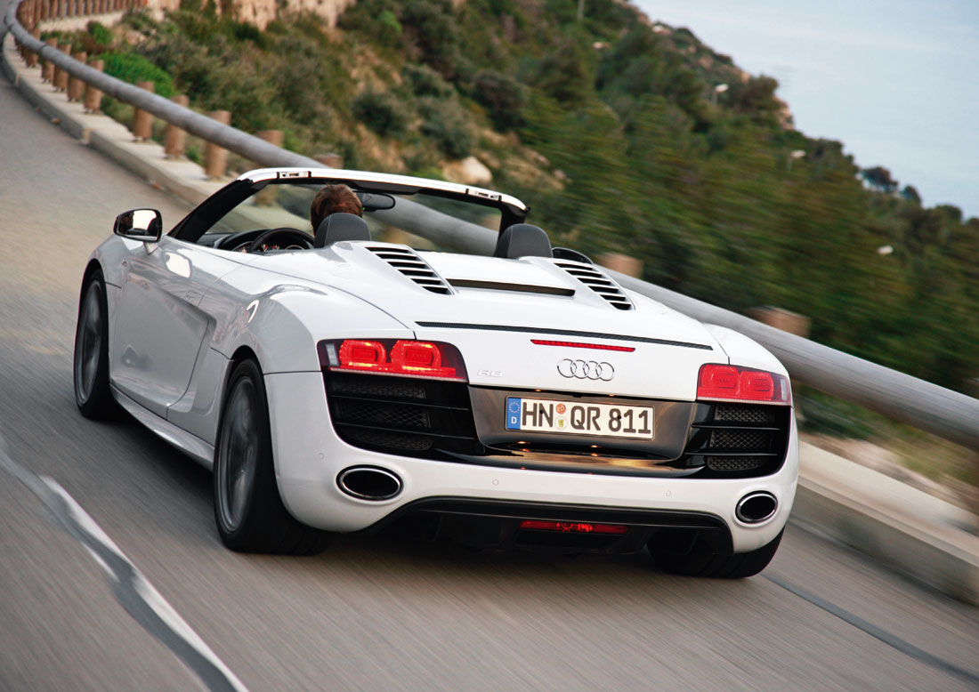 audi r8 spyder launch in india on 25th march. Black Bedroom Furniture Sets. Home Design Ideas