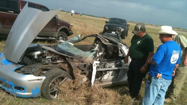 Chevrolet Corvette Z06 Crashes at 360 kph