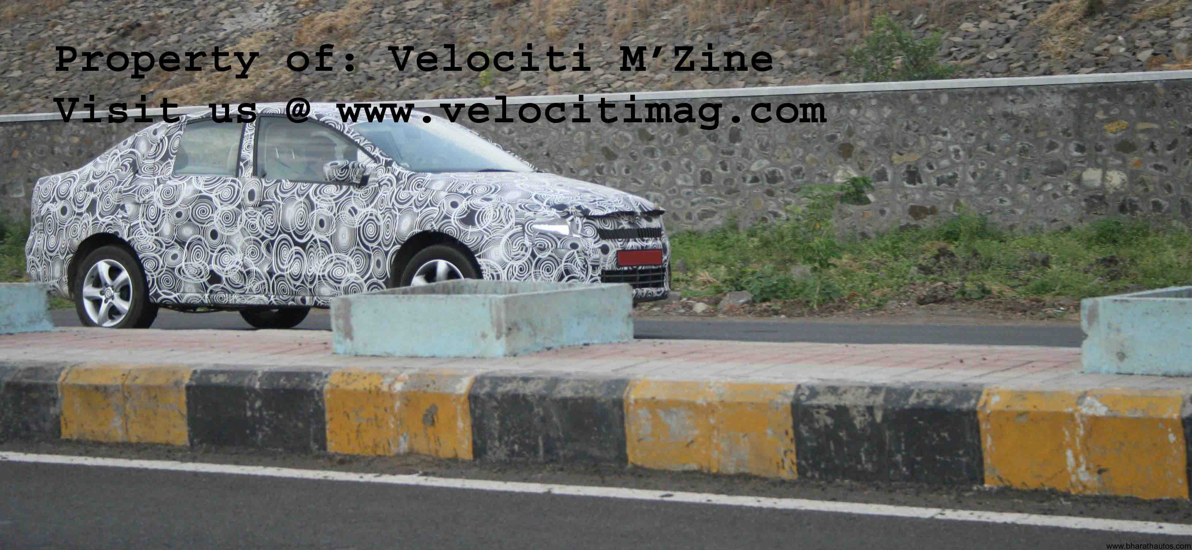 Spied – Skoda Rapid Sedan | Bharath Autos