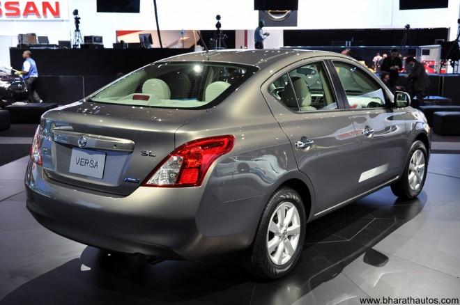 2012 Nissan Sunny Sedan (Rear)
