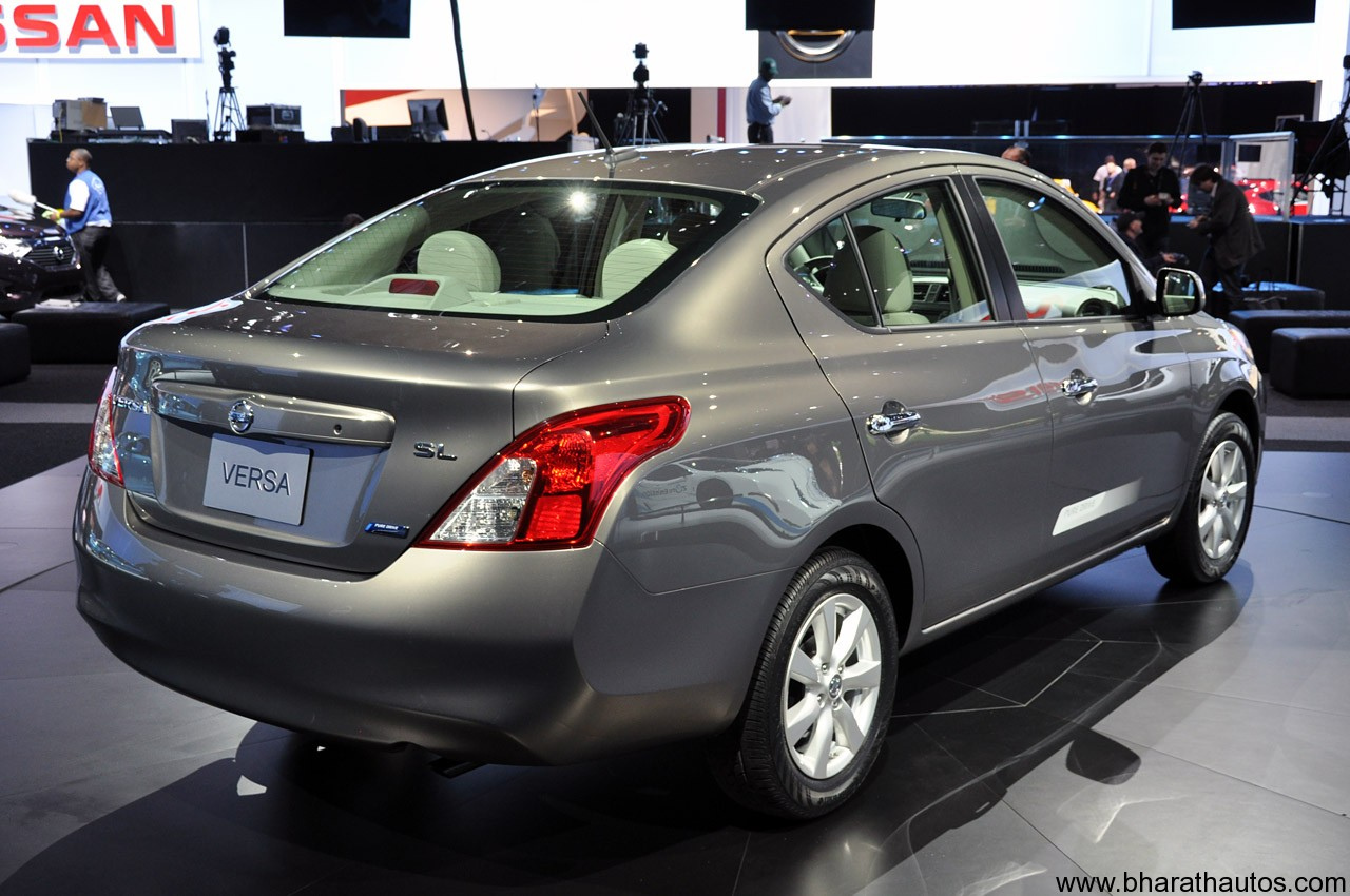 2012 Nissan Versa Sedan launched in NYC – it's the Sunny ...