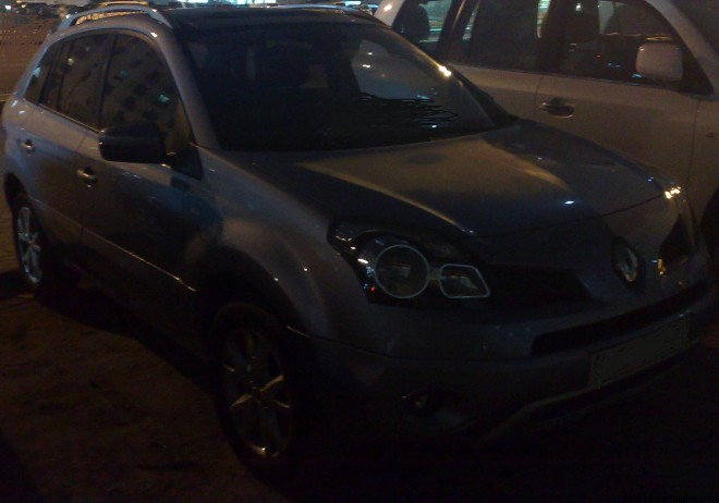 Spied - Renault Koleos in Pune