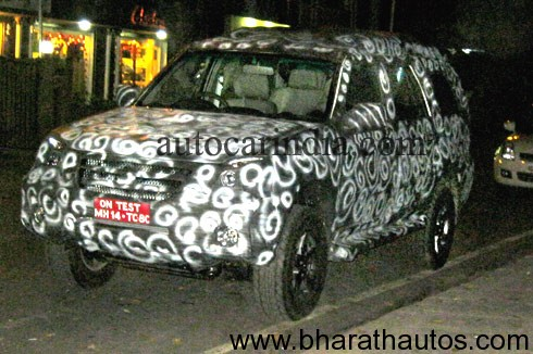 Force Motors SUV Spied In India