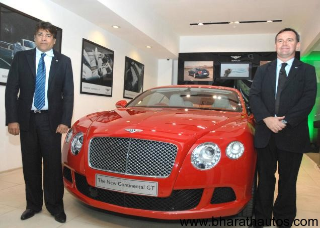 Bentley Continental GT India