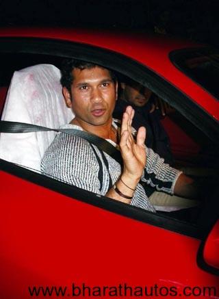 Sachin Tendulkar gets Nissan GT-R after selling his gift – Ferrari 360
