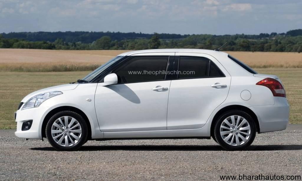 2012 Maruti Suzuki Swift DZire - SideView
