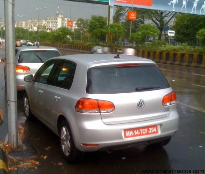 2011_Volkswagen_Golf_India