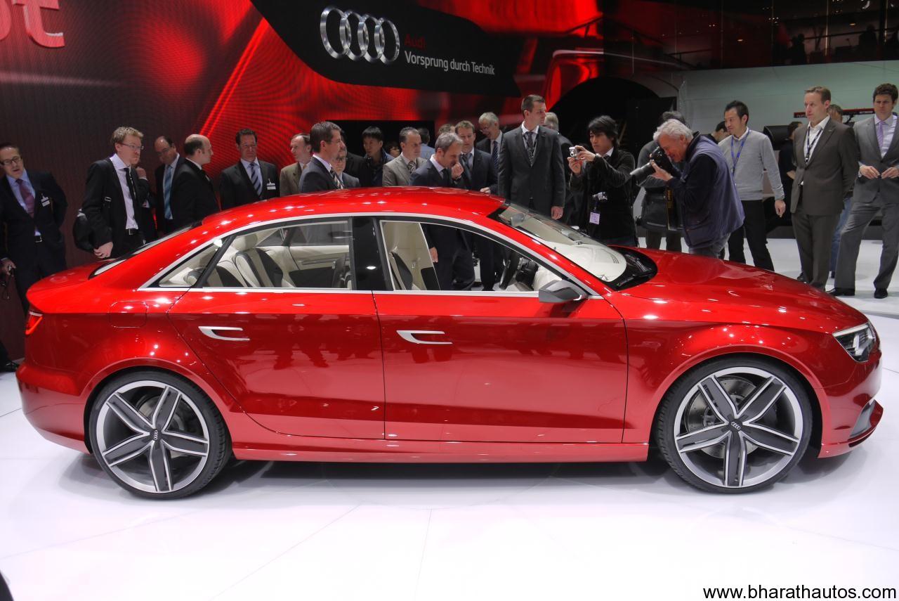 Audi A3 Sedan India launch by 2014