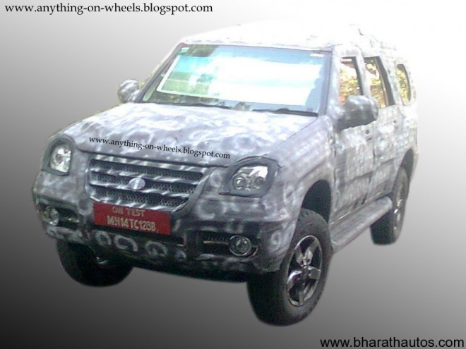 Force Motors SUV - Front