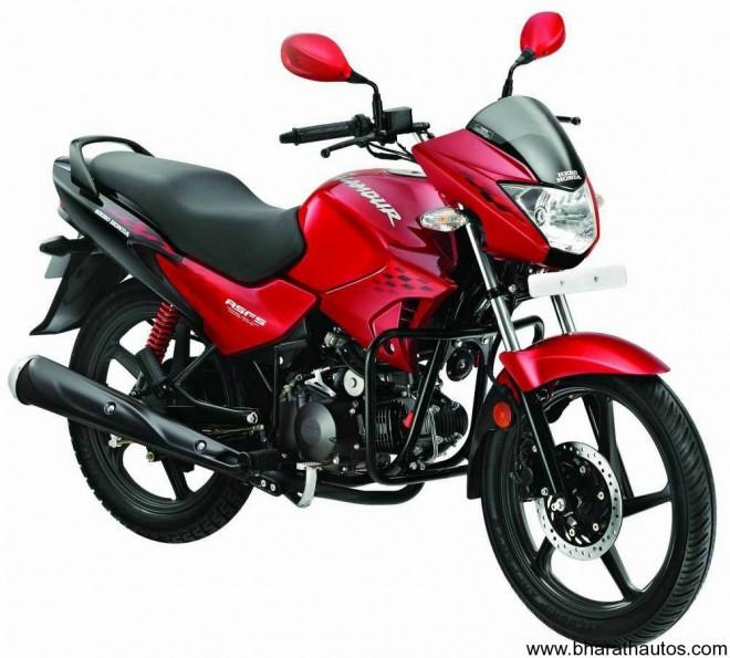 2011 Hero Honda Glamour - Front