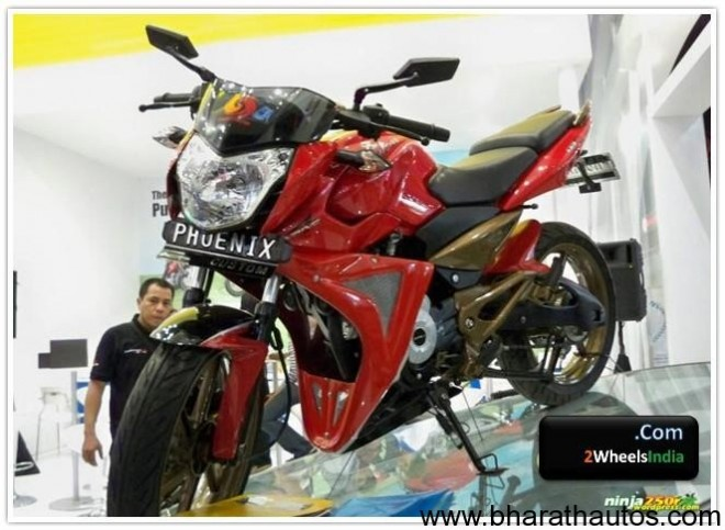 Modified Pulsar 135LS @ Jakata Fair 2010