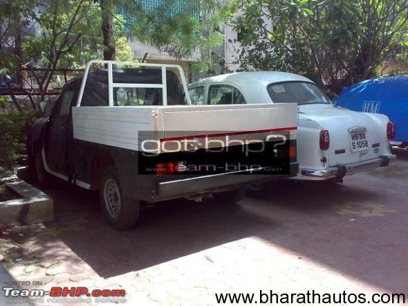 Spied HM Ambassador Pick Up Truck