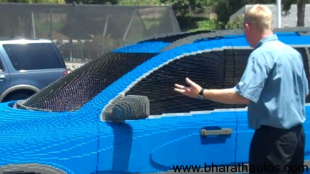LEGOLAND Employees pranks bosses car with LEGO car