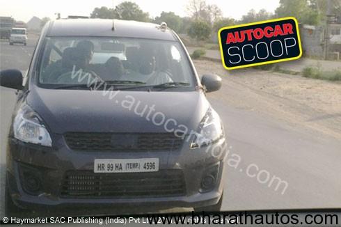 Spied Maruti's New R III Mini-MPV - Front