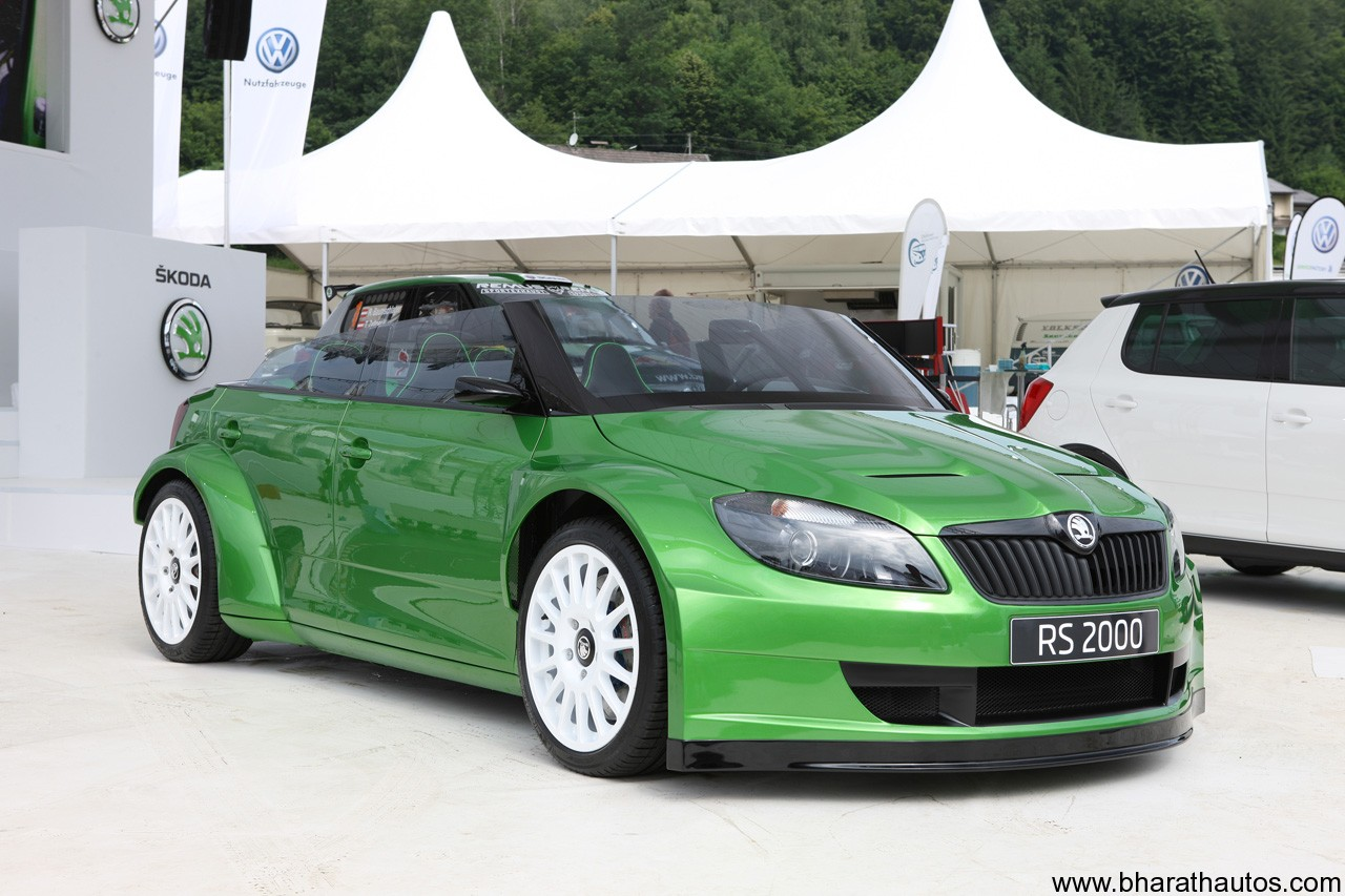 its Fabia vRS S2000 rally