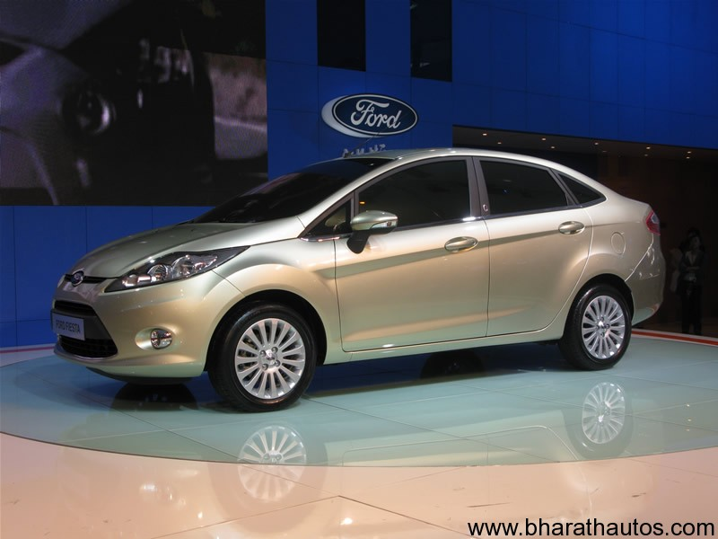 ford india launched the 2011 ford fiesta sedan. Black Bedroom Furniture Sets. Home Design Ideas