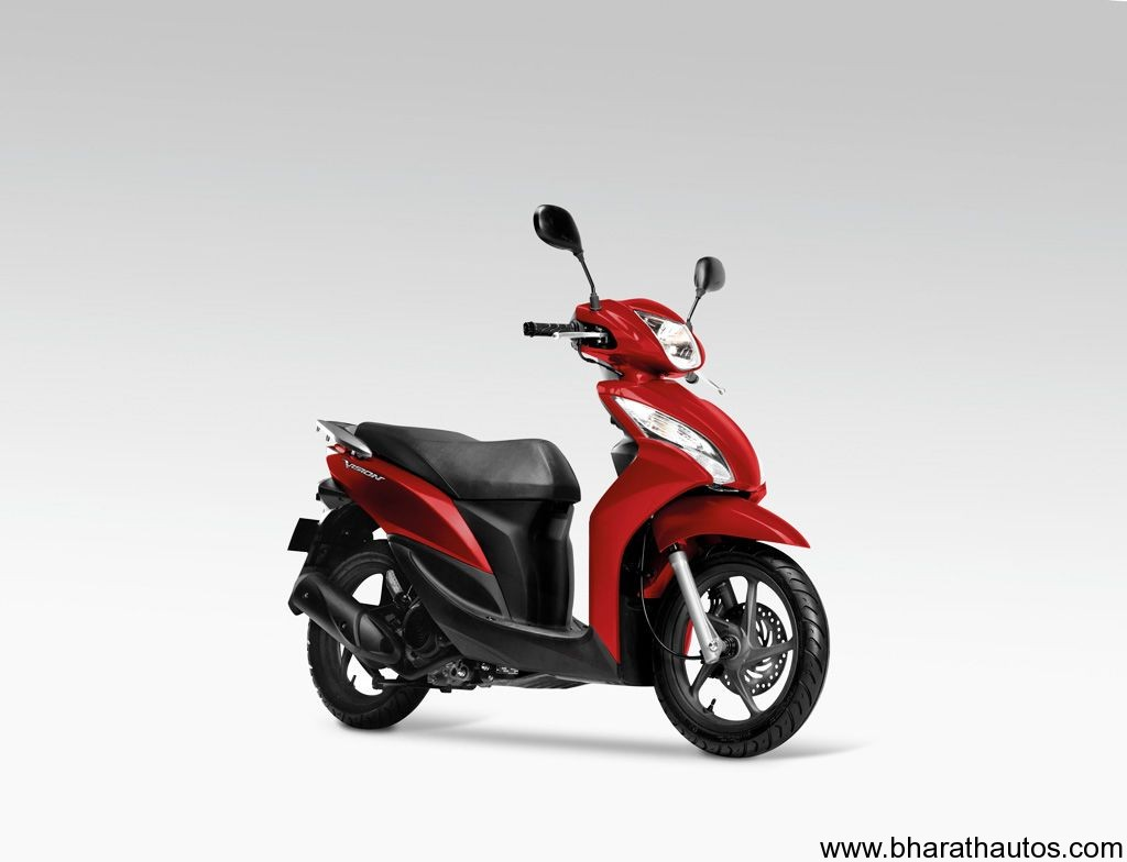 honda vision 110 scooter expected to replace dio. Black Bedroom Furniture Sets. Home Design Ideas