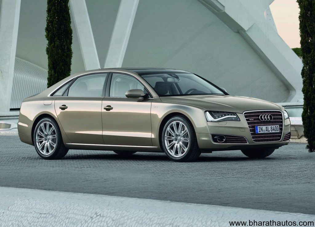 audi india launches a8 l w12 quattro at rs crore. Black Bedroom Furniture Sets. Home Design Ideas