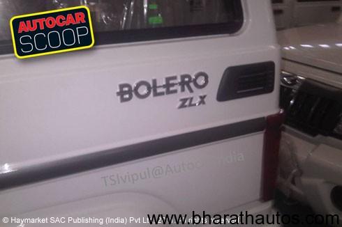 Mahindra Bolero ZLX - 003
