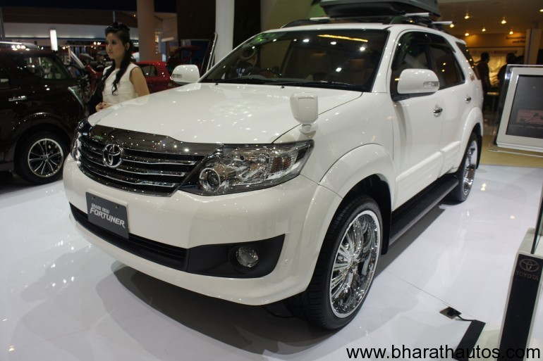 In its latest version, the Fortuner witnesses cosmetic upgrades in the