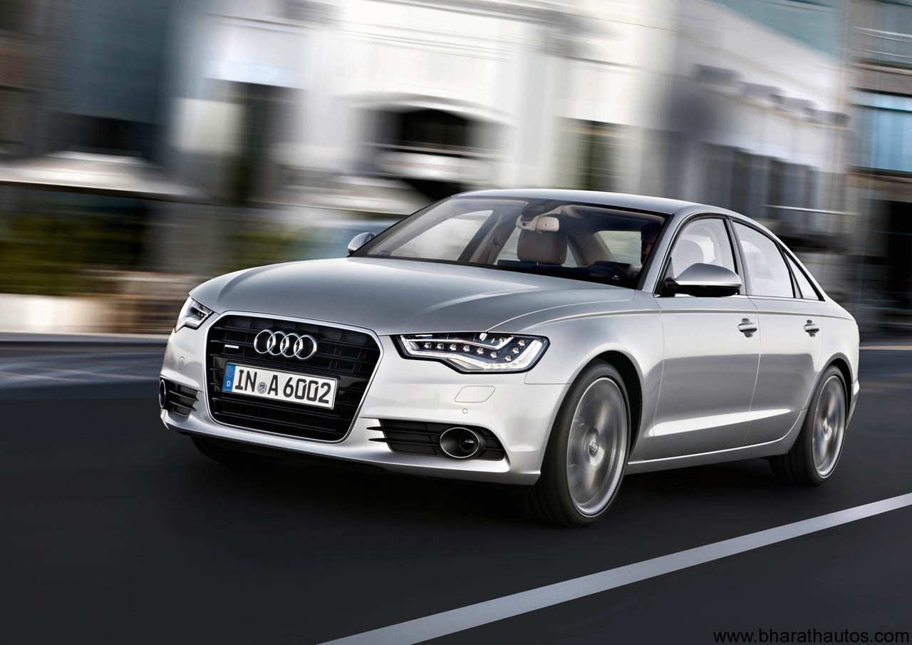 official 2012 audi a6 launch on 3rd august. Black Bedroom Furniture Sets. Home Design Ideas
