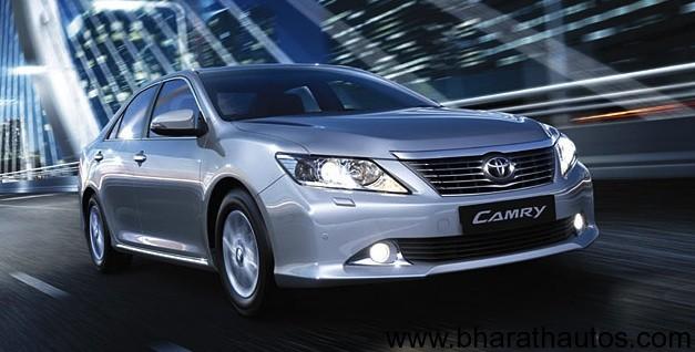 toyota kirloskar motors could launch the 2012 toyota camry sedan in