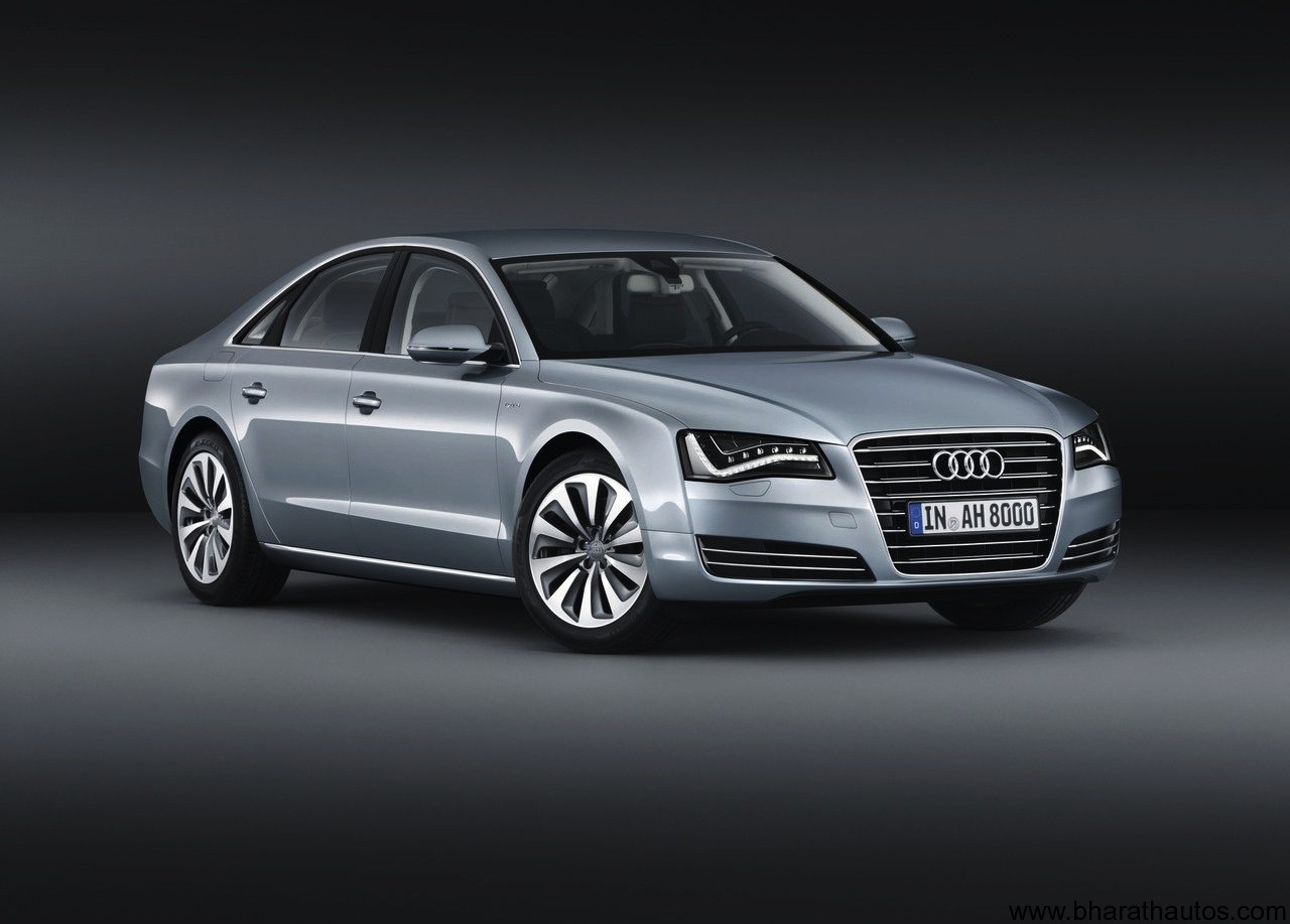 2013 audi a8 hybrid revealed. Black Bedroom Furniture Sets. Home Design Ideas
