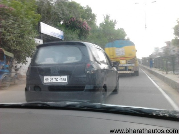 Maruti Suzuki R3 MPV (codenamed YL8) - RearView