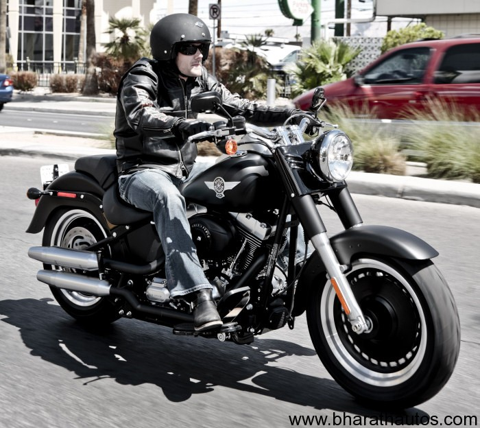 harley davidson india launches fat boy special at rs 19 7 lakh. Black Bedroom Furniture Sets. Home Design Ideas