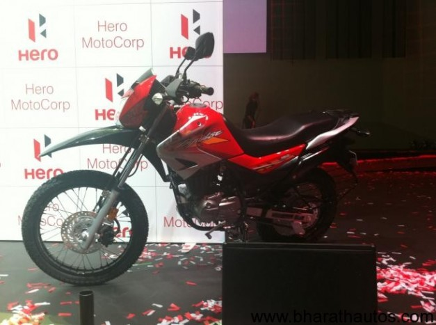 Hero MotoCorp150cc 'Impulse' Dirt Bike - Sports Red