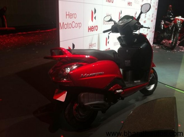 Hero MotoCorp 110 cc scooter 'Maestro' - Rear