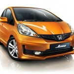 Honda Jazz facelifted
