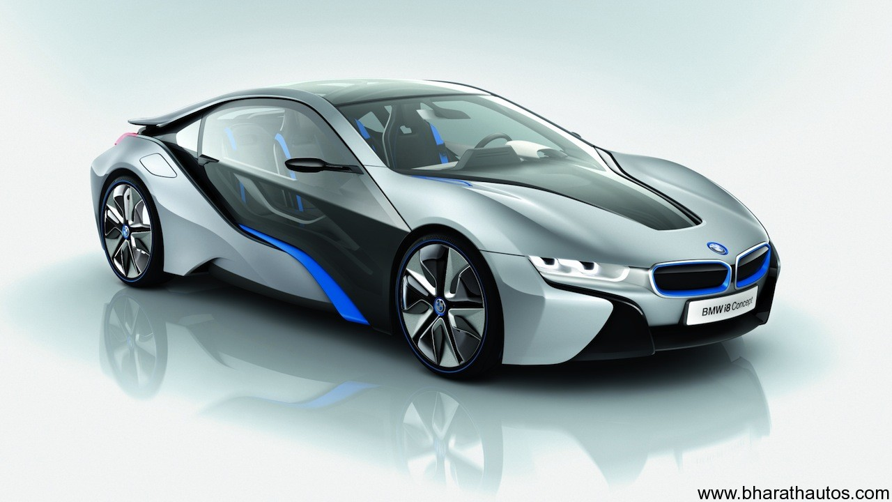 bmw i8 petrol hybrid concept car unveiled. Black Bedroom Furniture Sets. Home Design Ideas