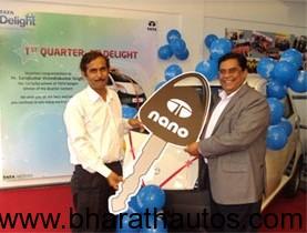Tata Delight's first lucky draw winner