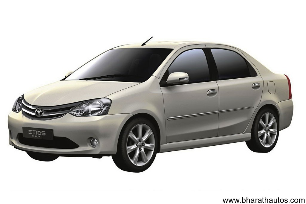 Toyota Etios diesel scheduled for September | Bharath Autos - Get ...