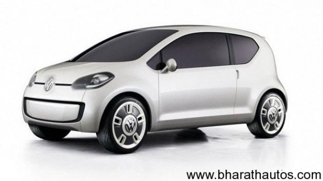 Volkswagen Up - Front