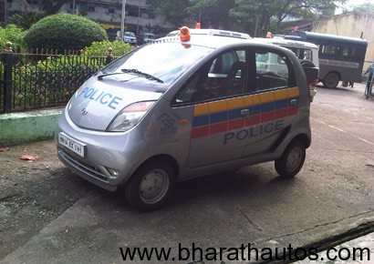 Mumbai police to chase criminals in Tata Nano?