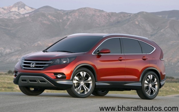 2012 Honda CR-V Concept - FrontView